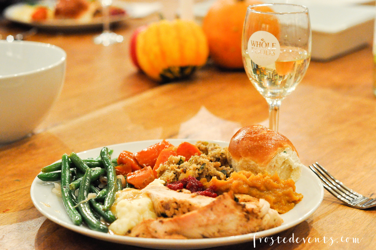 Whole Food Thanksgiving Dinner Order  Thanksgiving Dinner Turkey Tablescape and More with Whole