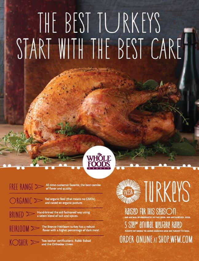 Whole Food Thanksgiving Dinner Order  Let Whole Foods Reduce Your Holiday Stress Giveaway
