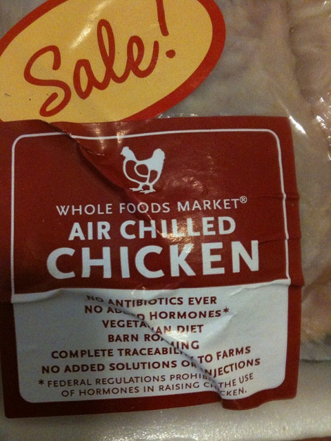 "Whole Foods Chicken  What is Whole Foods ""air chilled"" chicken And how is that"