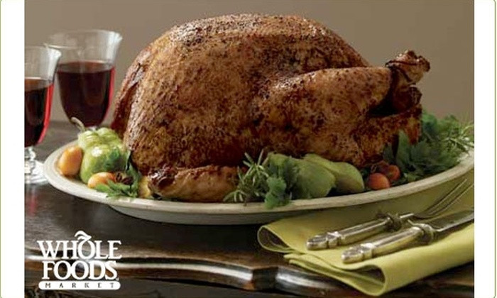 Whole Foods Christmas Dinner  Free $10 Coupon towards any Whole Foods Holiday Meal