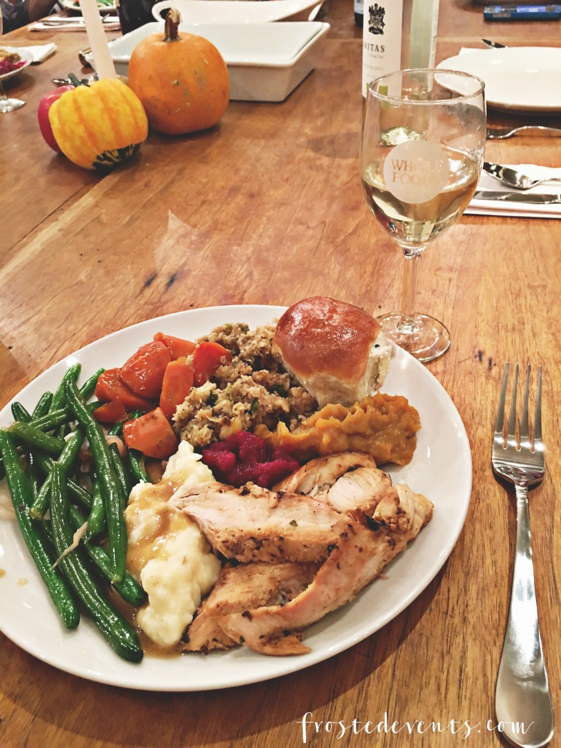 Whole Foods Turkey Dinner  Thanksgiving Dinner Turkey Tablescape and More with Whole
