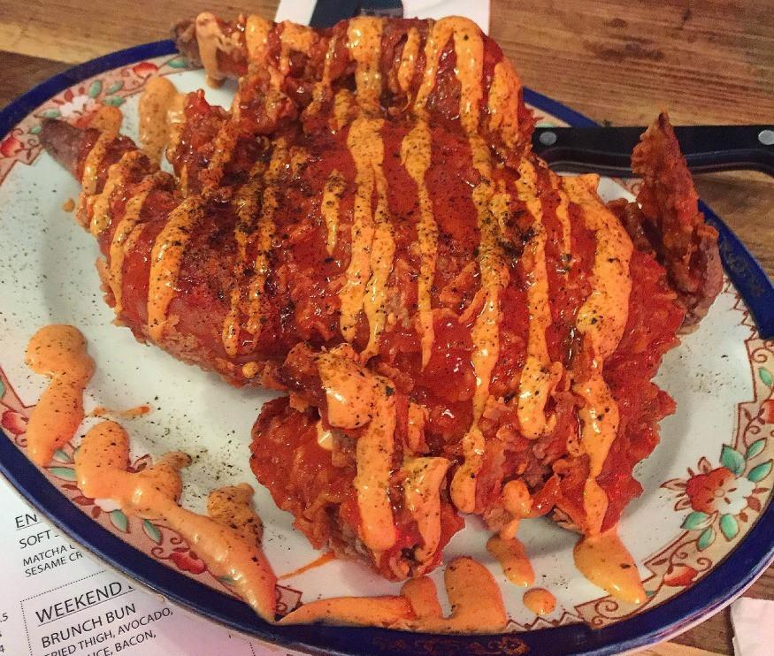 Whole Fried Chicken  London s Best Fried Chicken
