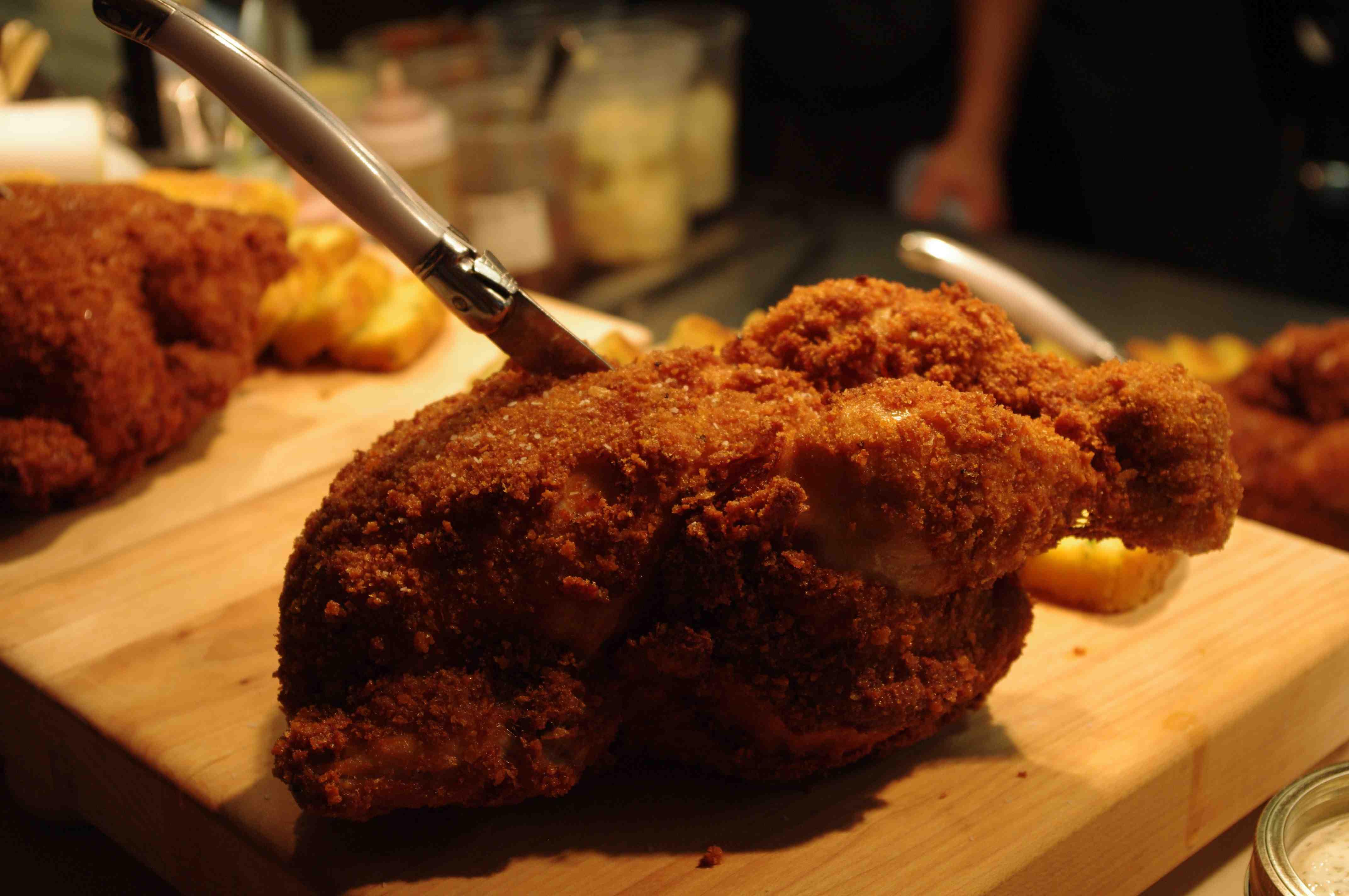 Whole Fried Chicken  Market's New Summer Menu Jody Robbins