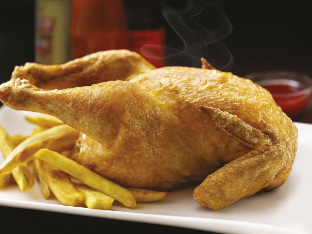 Whole Fried Chicken  Celebrate 4th of July at Max s Restaurant Cuisine of the