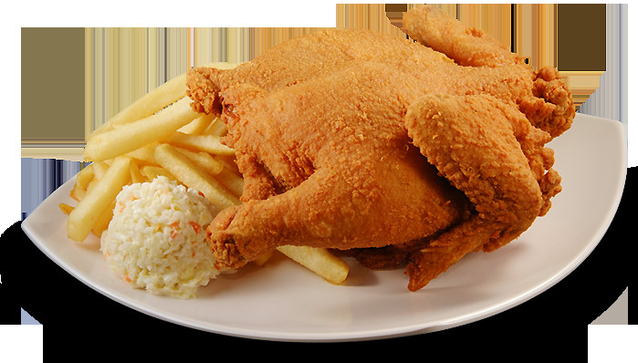 Whole Fried Chicken  Borenos Fried Chicken Our Menu