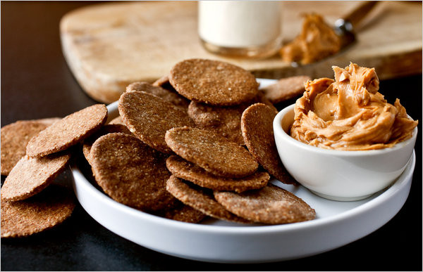 Whole Grain Crackers  Homemade Whole Grain Crackers