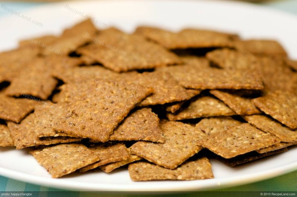 Whole Grain Crackers  Whole Grain 5 Seed Crackers Recipe