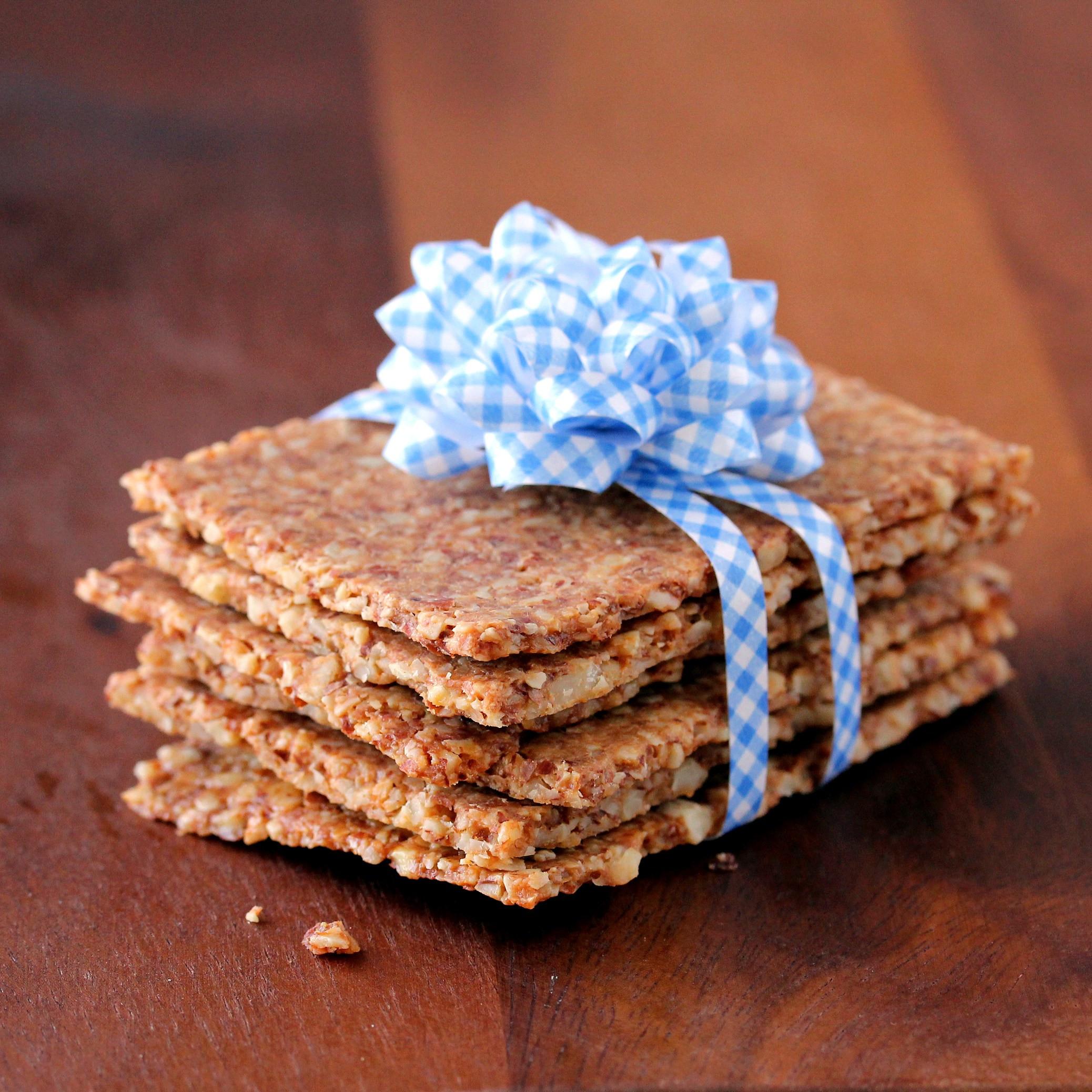 "Whole Grain Crackers  Grain Free ""Whole Grain"" Crackers Low Carb So Simple"