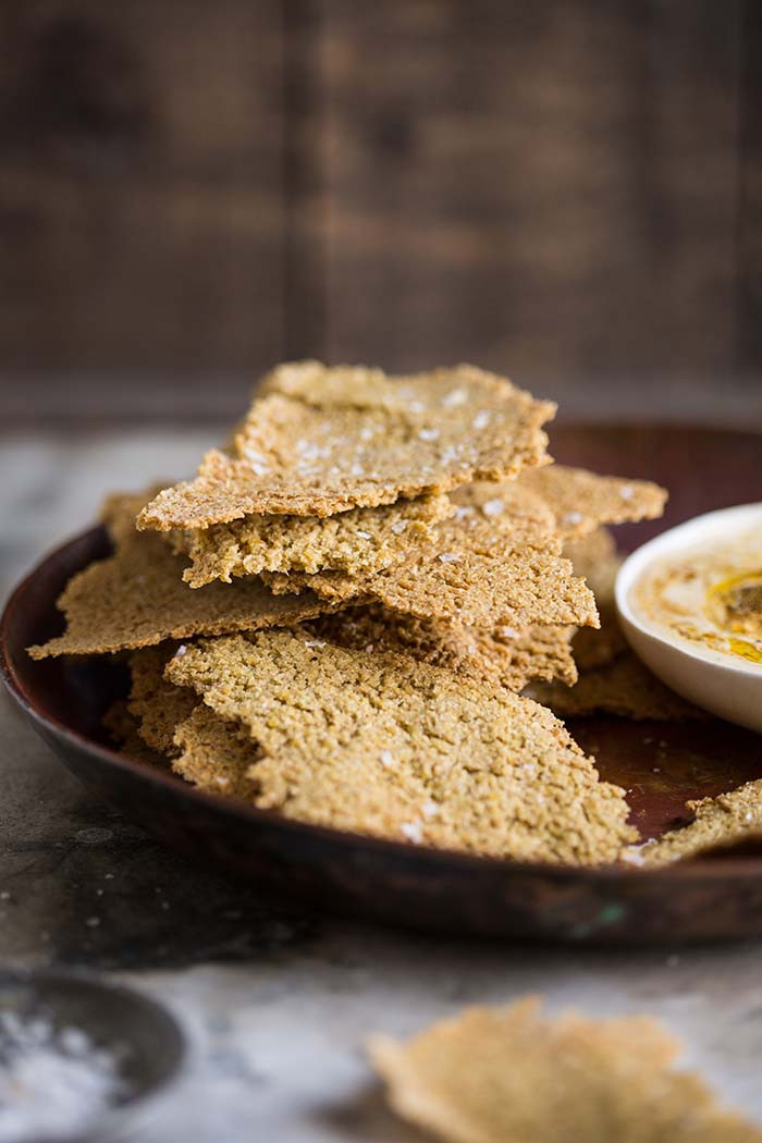 Whole Grain Crackers  e ingre nt whole grain cracker by Dan Barber