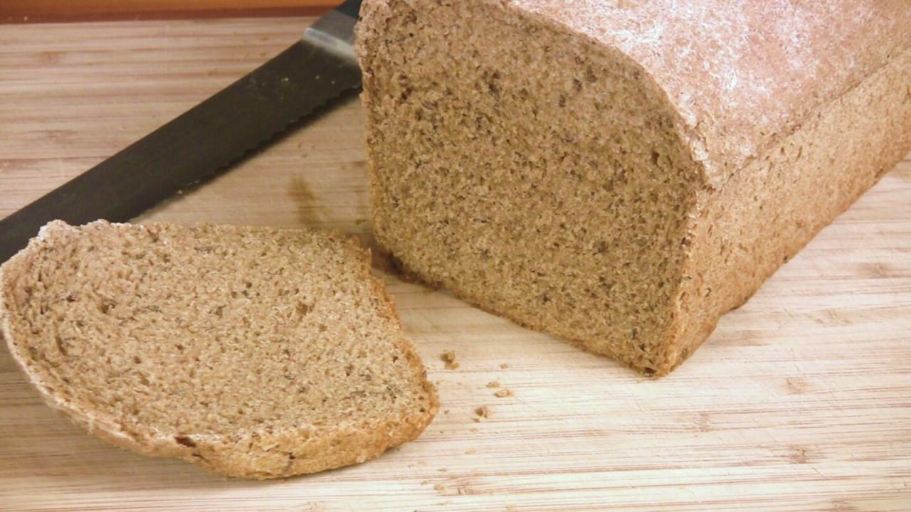Whole Grain Rye Bread  Delectable Planet Whole Grain Caraway Rye Recipe
