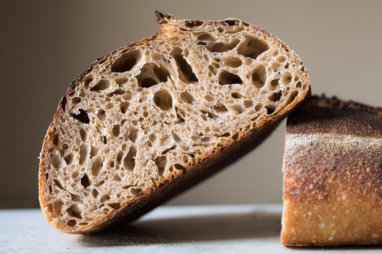 Whole Grain Sourdough Bread  Fifty Fifty Whole Wheat Sourdough Bread