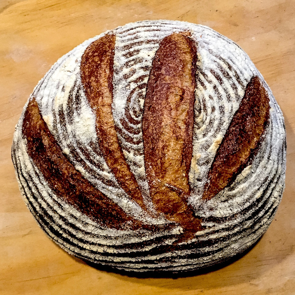 Whole Grain Sourdough Bread  Traditional Whole Grain Sourdough