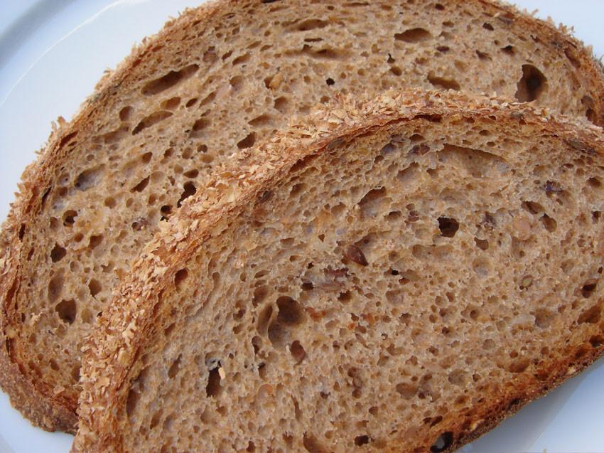 Whole Grain Sourdough Bread  whole wheat sourdough bread recipe starter