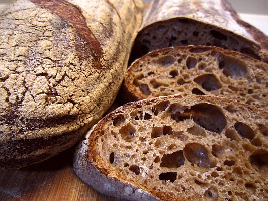 Whole Grain Sourdough Bread  Whole Wheat Sourdough Bread at Hydration