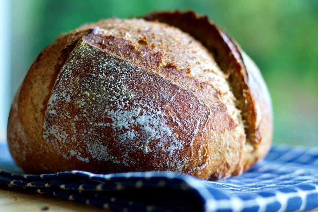 Whole Grain Sourdough Bread  Beginner Whole Wheat Artisan Sourdough Bread