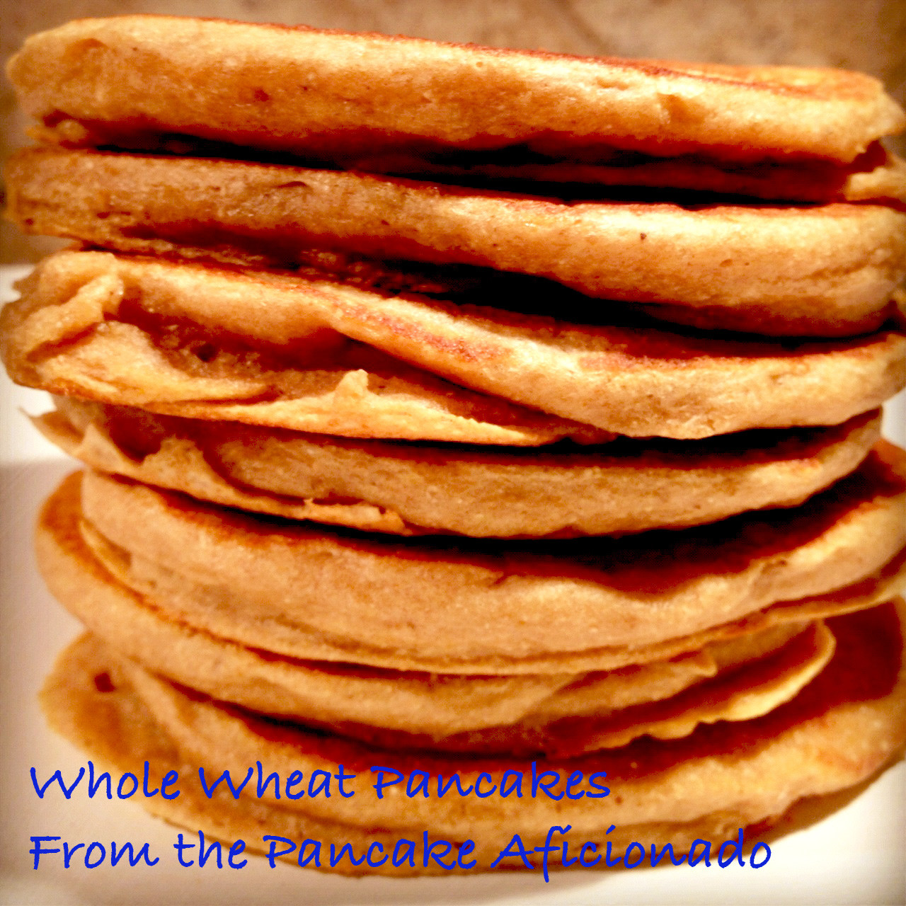 Whole Wheat Pancakes  Whole wheat pancakes from scratch easy recipe