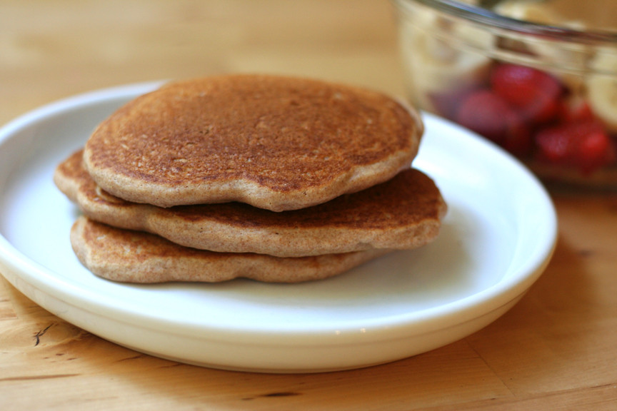 Whole Wheat Pancakes  This Week for Dinner Featured Recipe Whole Wheat