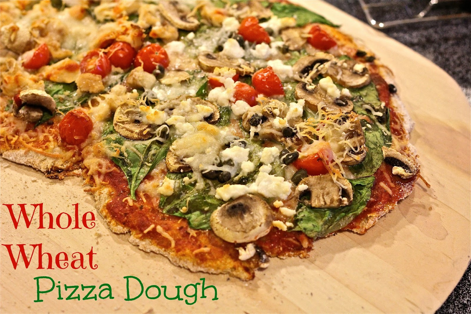 Whole Wheat Pizza Dough Recipe  Fresh Whole Wheat Pizza Crust