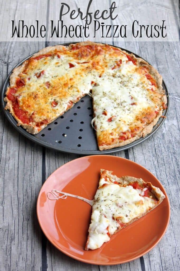 Whole Wheat Pizza Dough Recipe  Whole Wheat Pizza Crust the perfect recipe