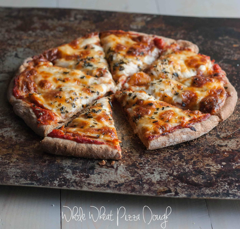 Whole Wheat Pizza Dough Recipe  Fail Proof Whole Wheat Pizza Dough Sweetphi