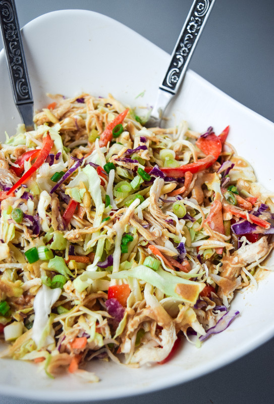 Whole30 Chicken Salad  Asian Chicken Chopped Salad Whole30 Paleo