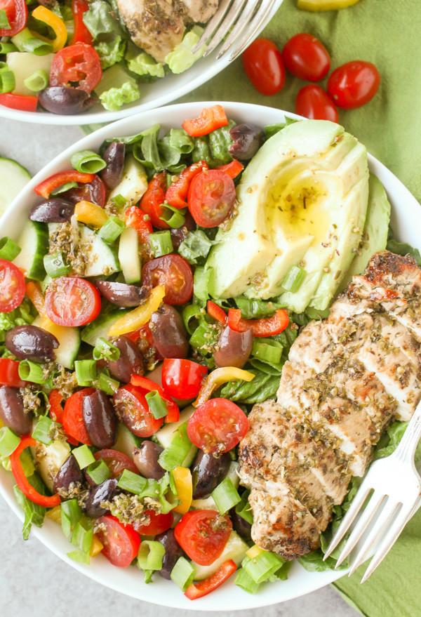 Whole30 Chicken Salad  Paleo Whole30 Greek Chicken Salad Jay s Baking Me Crazy