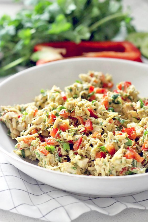 Whole30 Chicken Salad  Whole30 Recipes Quick and Tasty Lunch Ideas