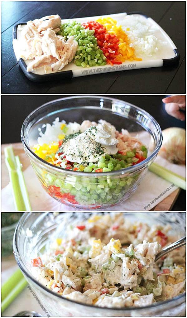 Whole30 Chicken Salad  Ranch Chicken Salad Recipe Paleo Whole30 pliant