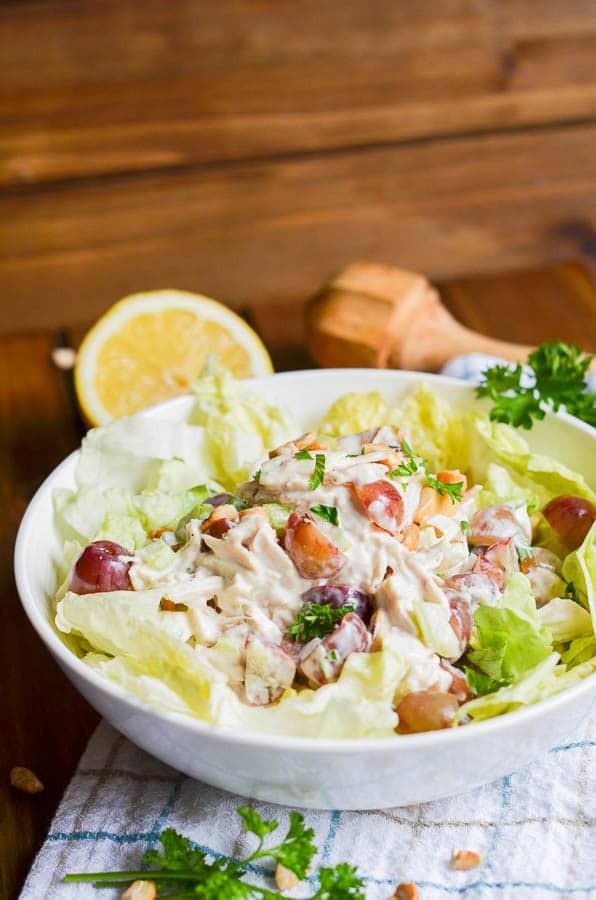 Whole30 Chicken Salad  Amazing Whole30 Chicken Salad Recipe 24 Carrot Kitchen