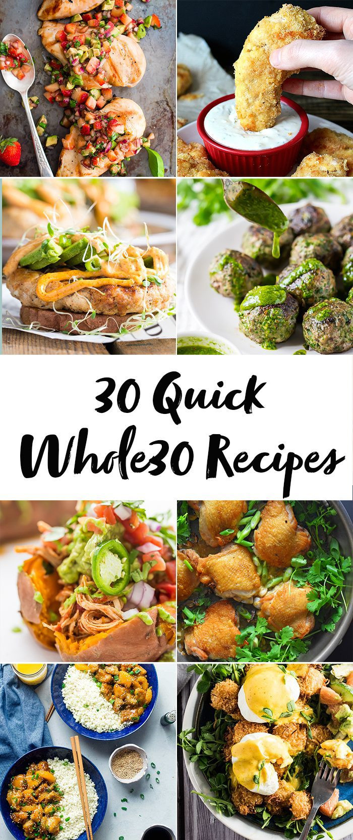Whole30 Dinner Recipes  30 Quick Whole30 Recipes Whole30 Dinner Recipes