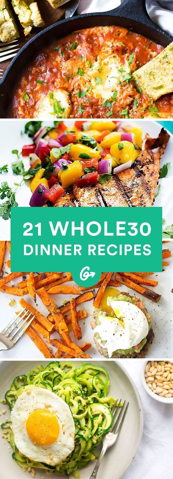 Whole30 Dinner Recipes  1000 images about Whole 30 With Me on Pinterest