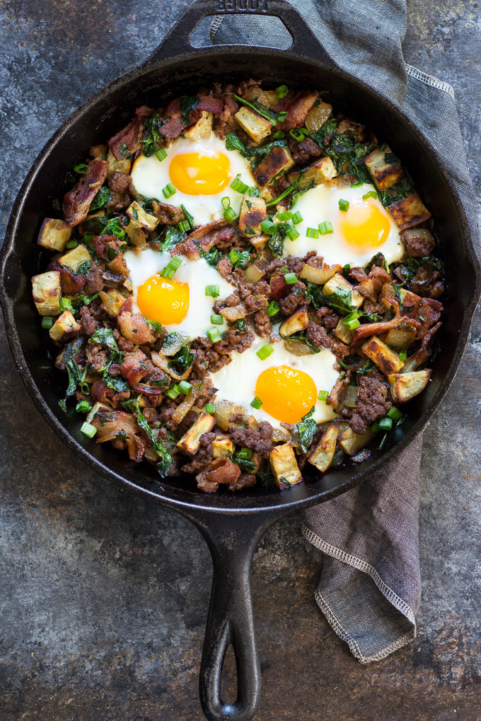 Whole30 Ground Beef Recipes  Bacon Burger Paleo Breakfast Bake Whole30