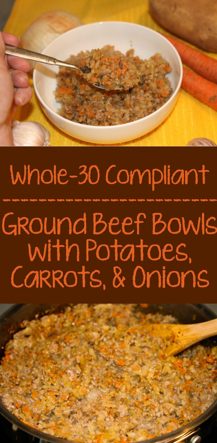 Whole30 Ground Beef Recipes  Whole30 Ground Beef Bowls • Farmstead Chic