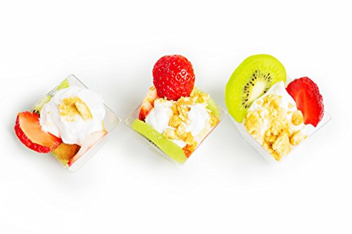 Wholesale Mini Dessert Cups  Kitchen Buddy Dessert Cups Elegant Mini Tasting Cube 2 oz