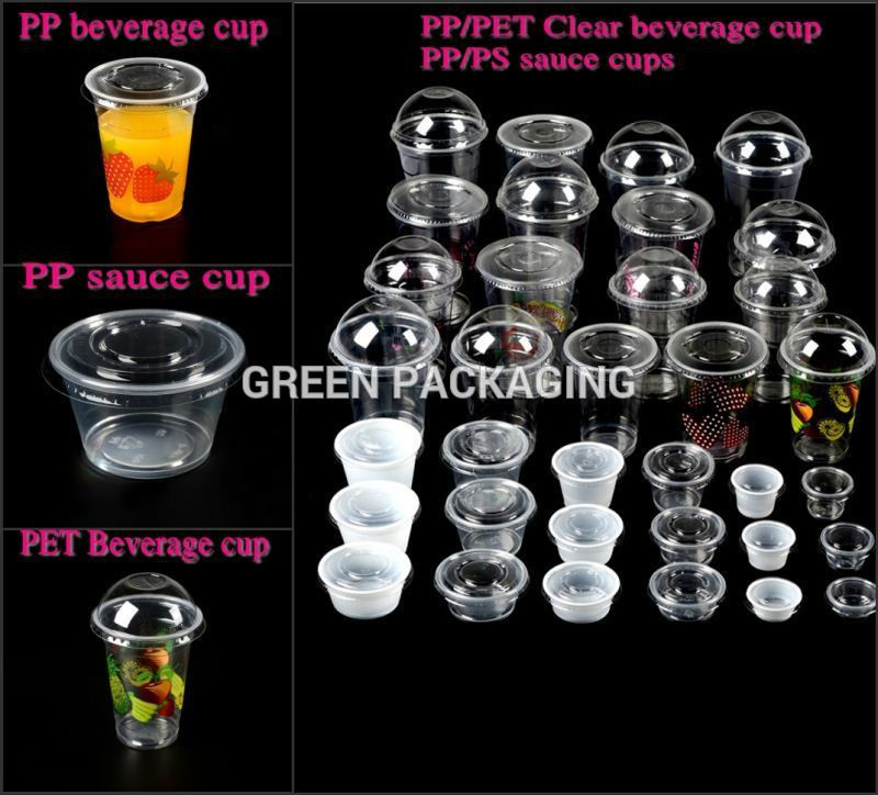 Wholesale Mini Dessert Cups  Plastic Disposable Wholesale Pp Clear Dessert Cups Mini