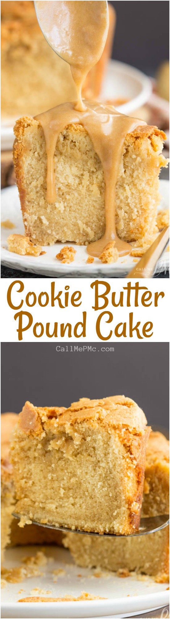 Why Is It Called Pound Cake  Cookie Butter Pound Cake Call Me PMc
