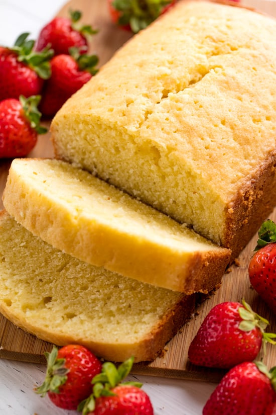 Why Is It Called Pound Cake  Traditional Pound Cake