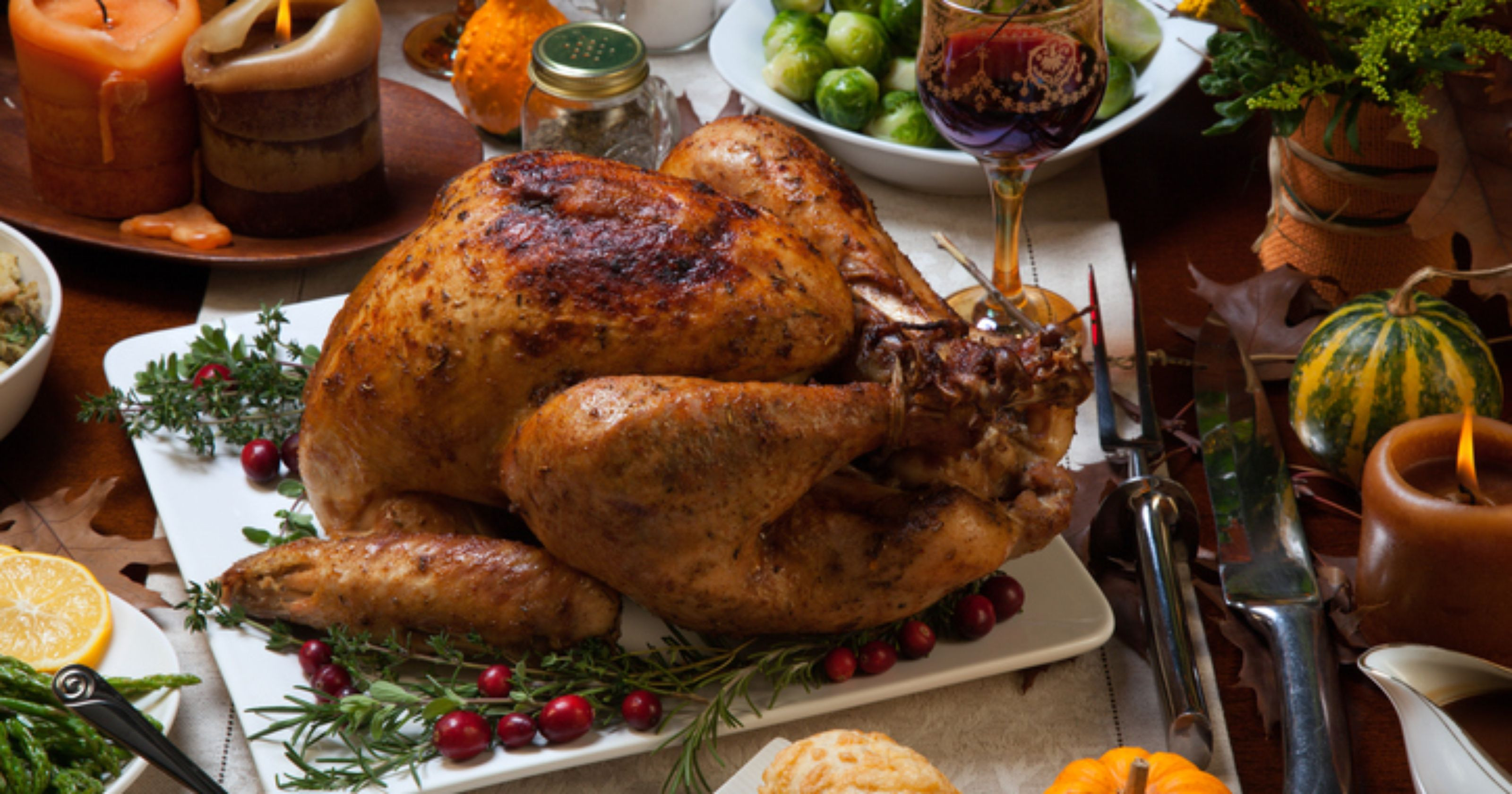 Why Turkey On Thanksgiving  Win a Thanksgiving Feast From Xtras