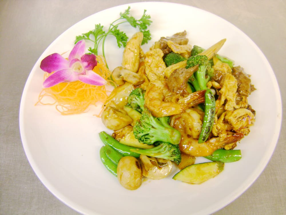 Wild Rice Norwalk  mandarin triple delight Yelp