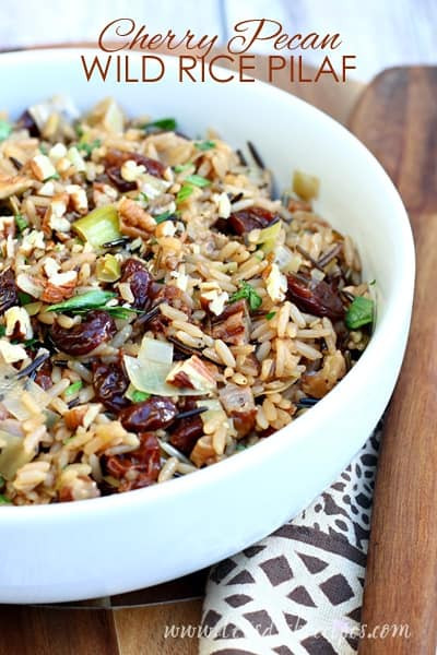 Wild Rice Pilaf Recipe  Cherry Pecan Wild Rice Pilaf
