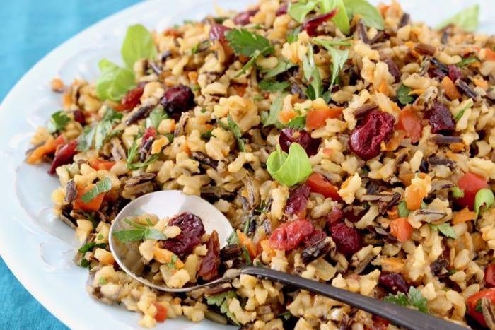Wild Rice Pilaf Recipe  Cranberry Wild Rice Pilaf Recipe • CiaoFlorentina