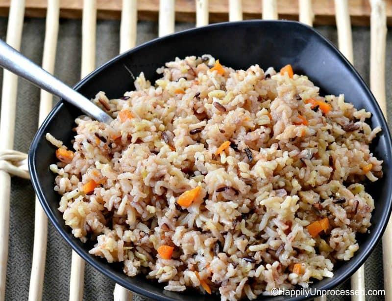 Wild Rice Pilaf Recipe  No Fail Simple Wild Rice Pilaf Happily Unprocessed