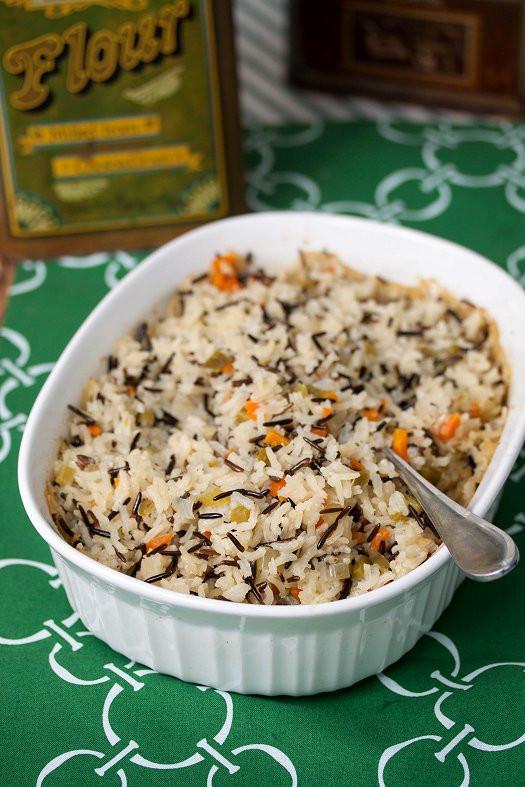 Wild Rice Pilaf Recipe  Wild Rice Pilaf Tide & Thyme
