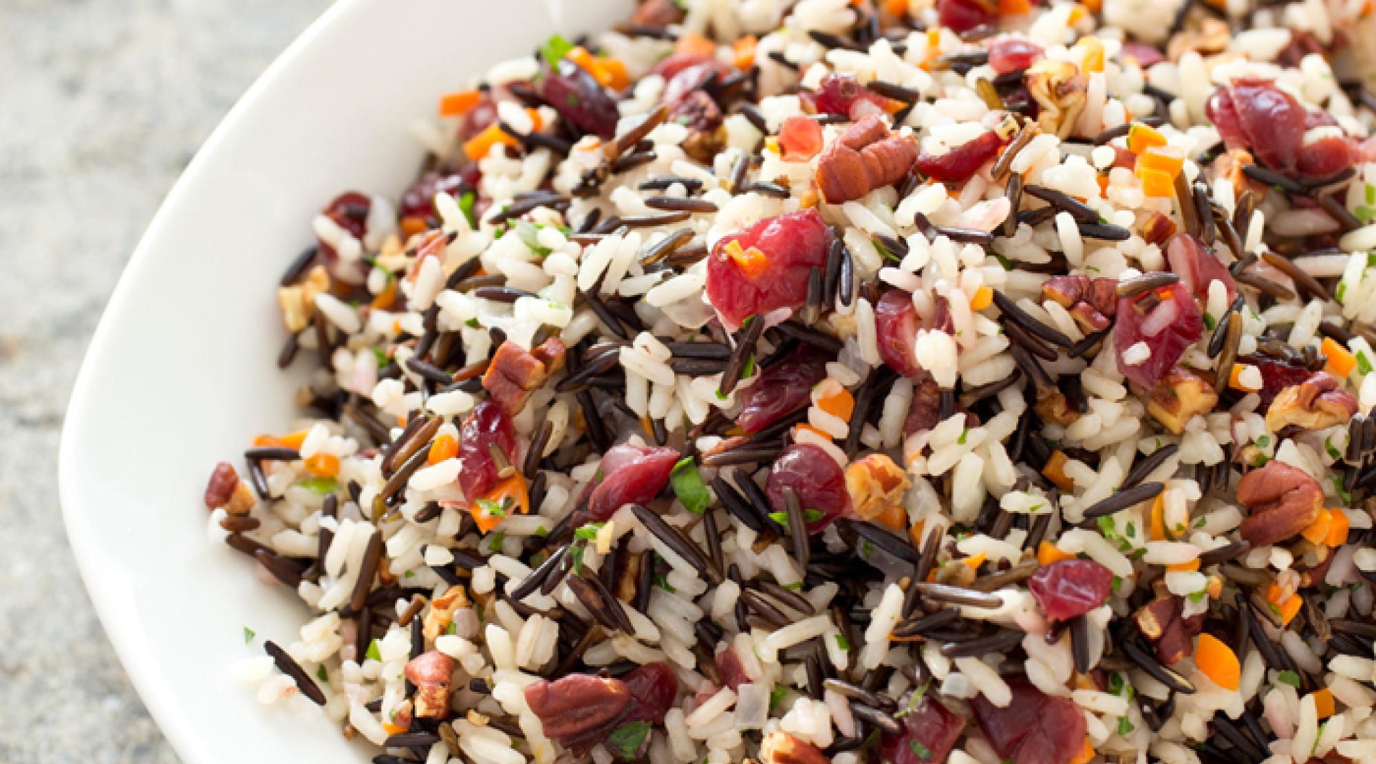 Wild Rice Pilaf Recipe  Wild Rice Pilaf with Pecans and Dried Cranberries