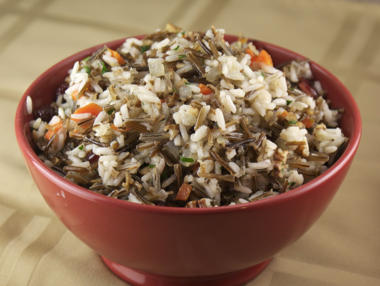 Wild Rice Pilaf Recipe  Wild Rice Pilaf with Pecans and Cranberries Heat Oven to 350