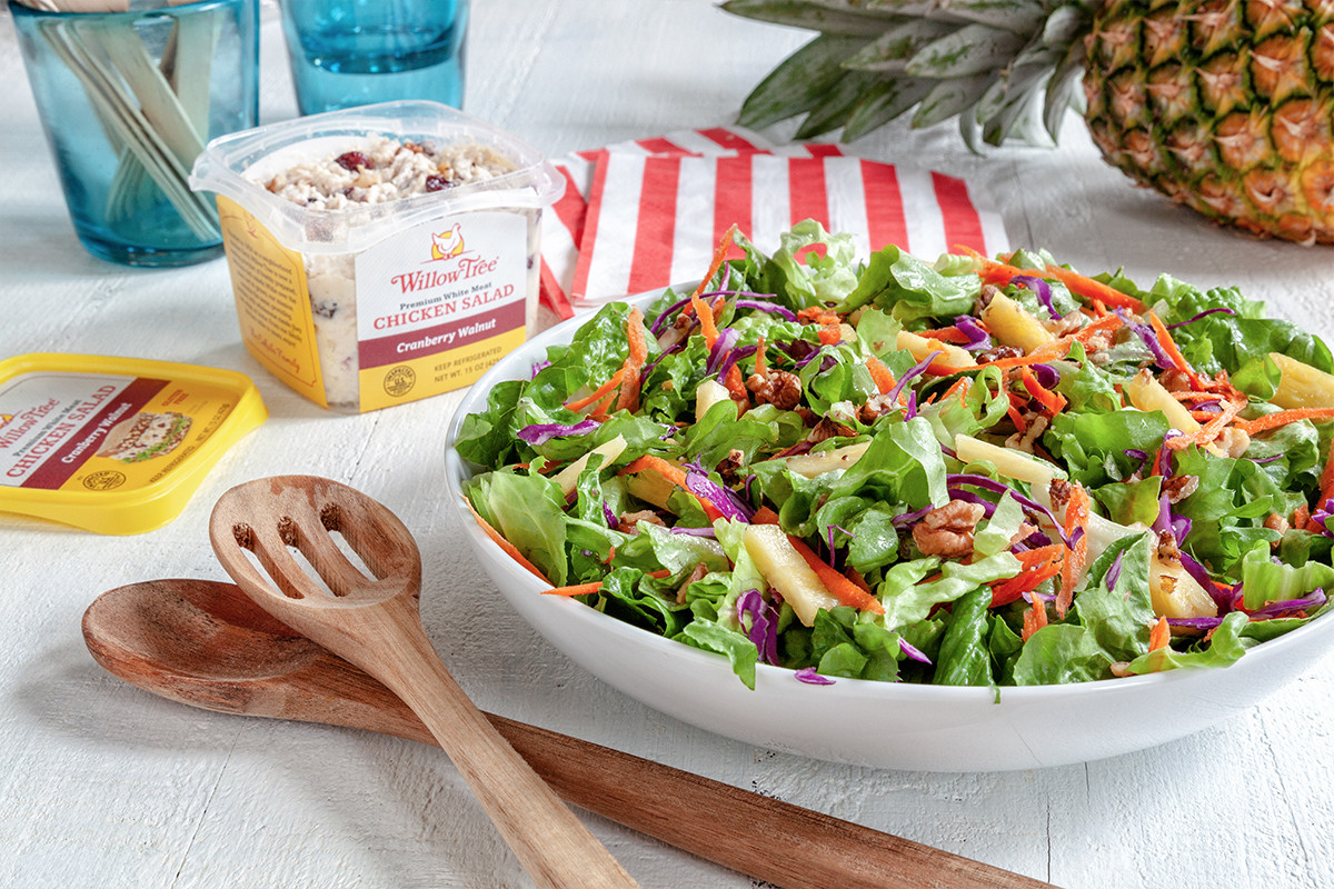 Willow Tree Chicken Salad  Willow Tree Tropical Chicken Salad Willow Tree
