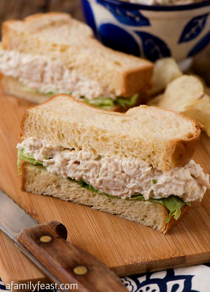 Willow Tree Chicken Salad  Copycat Willow Tree Chicken Salad A Family Feast