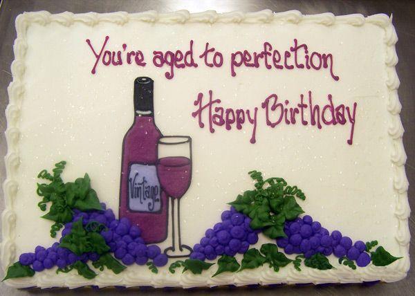 Wine Birthday Cake  Wine Bottle Birthday Cake Ideas