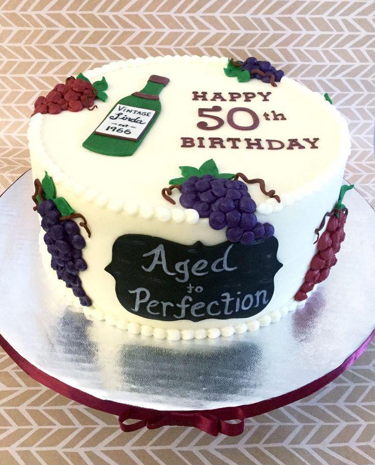 Wine Birthday Cake  Wine Birthday Cake