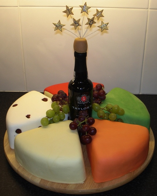 Wine Birthday Cake  13 Round Wine Themed Cakes Wine Bottle Themed